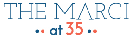 The Marci at 35 logo