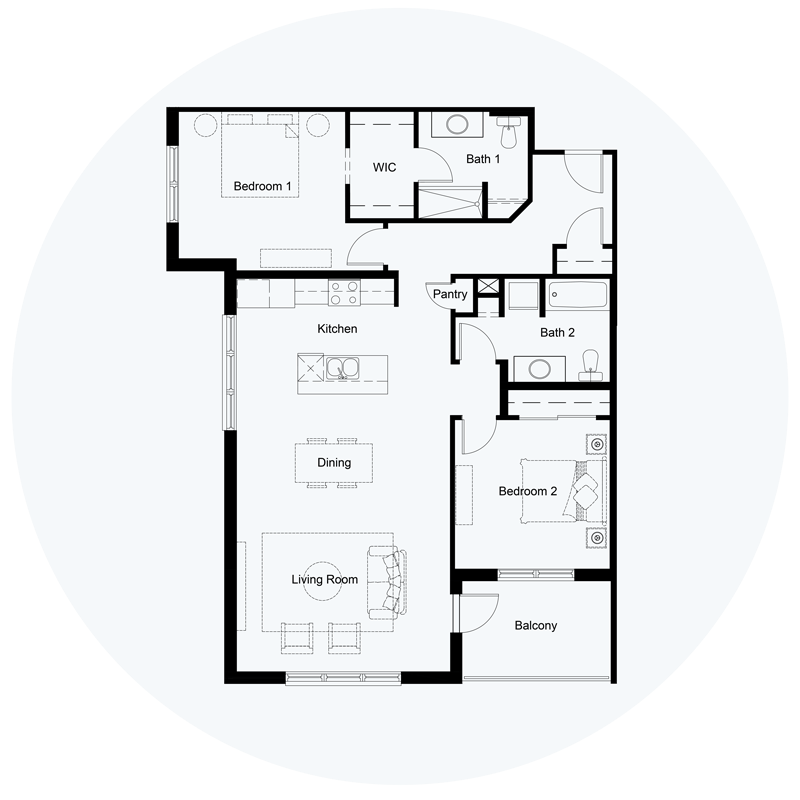 Floor Plan Unit A