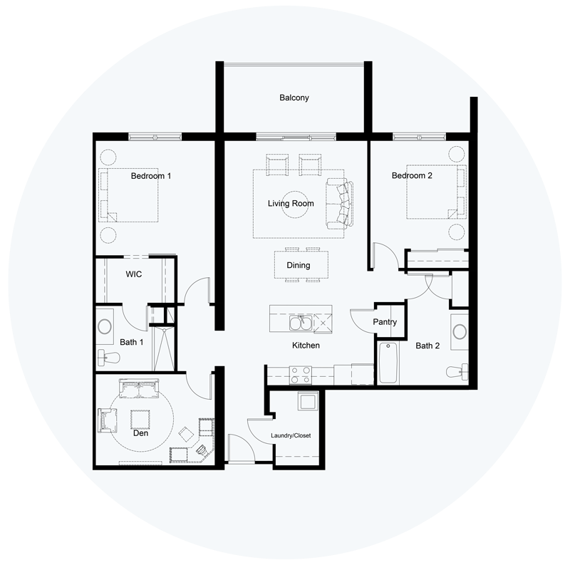 Floor Plan Unit C