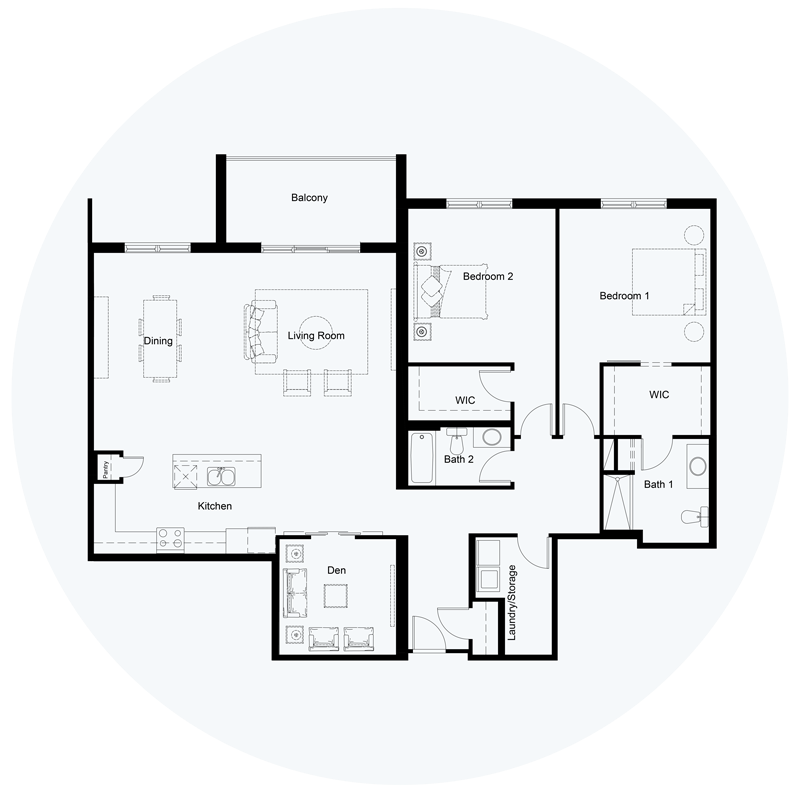 Floor Plan Unit D
