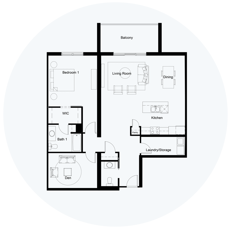 Floor Plan Unit G