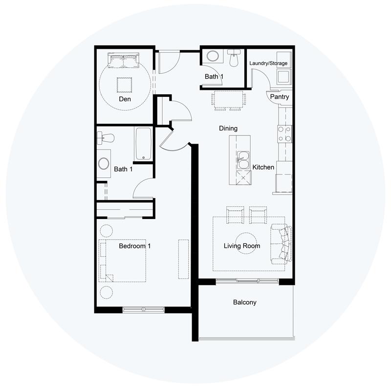 Floor Plan Unit J